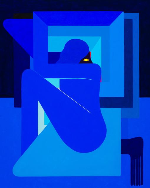 , '(Single Figure), Right Facing,' 2018, V1 Gallery