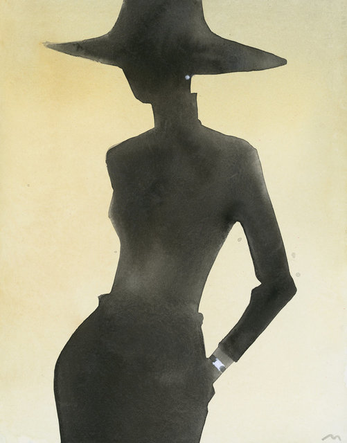 , 'Silhouette (With hat, watch),' 2005, CFHILL