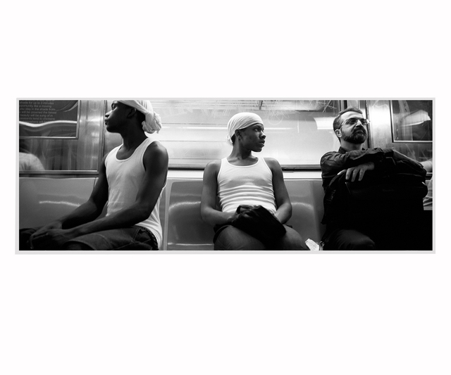 , 'Three men,' 1998, Patricia Conde Galería