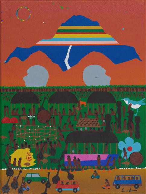 , 'Wind People of Ufological Island.,' 2017, Bergman Gallery