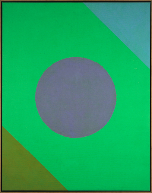Paul Reed, 'Green Disc', 1965, Hemphill Fine Arts
