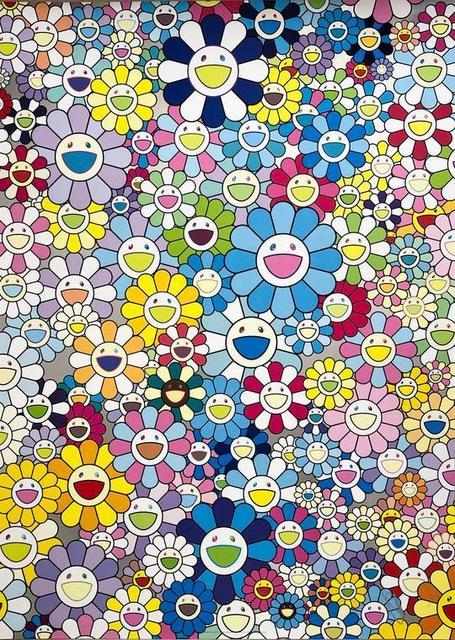 Takashi Murakami, 'Champagne Supernova: Blue', 2018, Vogtle Contemporary