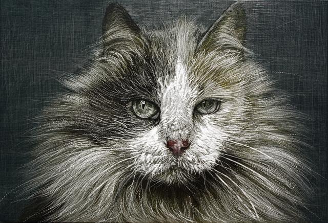 , 'Cat,' 2014, Galerie Bhak
