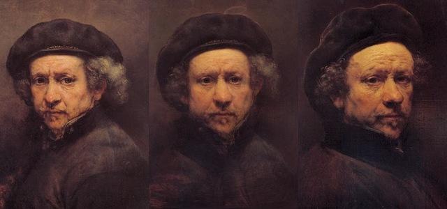 , 'Rembrandt Morphs,' 2013, Ani Molnár Gallery