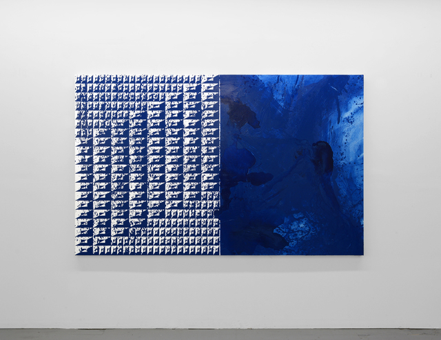 , 'Swimming in Blue,' 2018, Denny Gallery