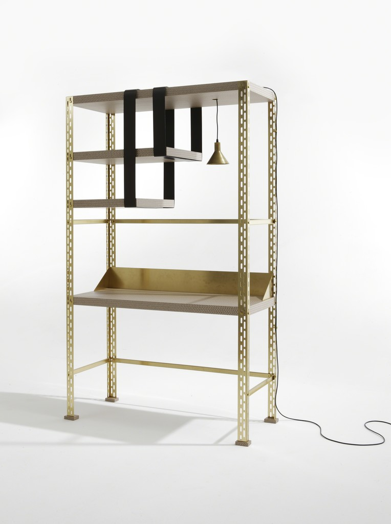 Scaffale d'arte working unit by Federico Peri