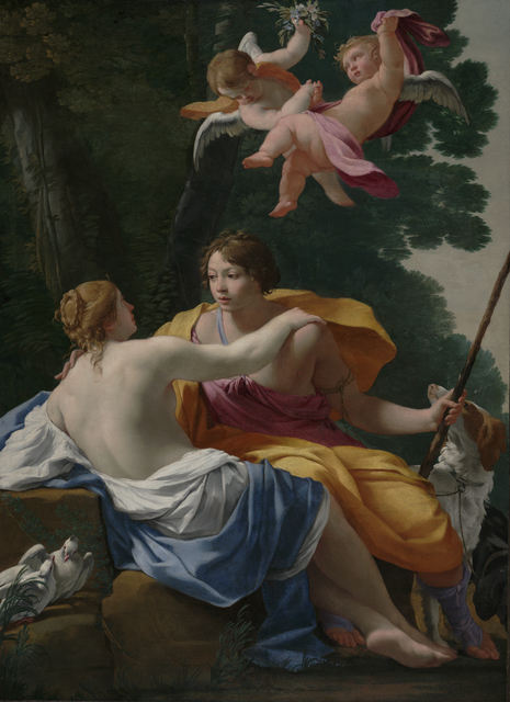 'Venus and Adonis',  about 1642, J. Paul Getty Museum