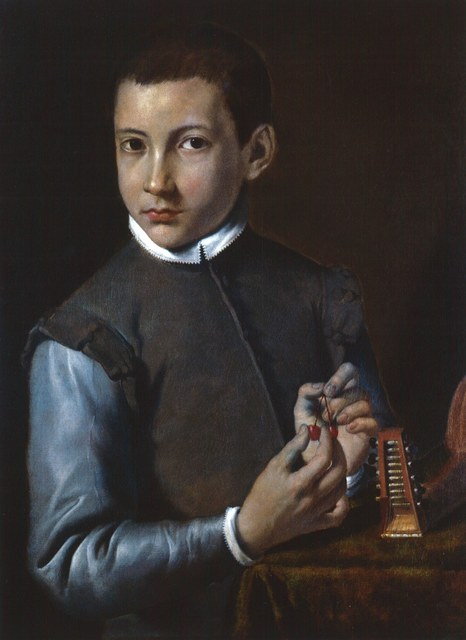 , 'Portrait of a Boy,' about 1590, Belvedere Museum