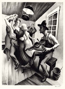 , 'I Got a Gal on Sourwood Mountain.,' 1938, The Old Print Shop, Inc.