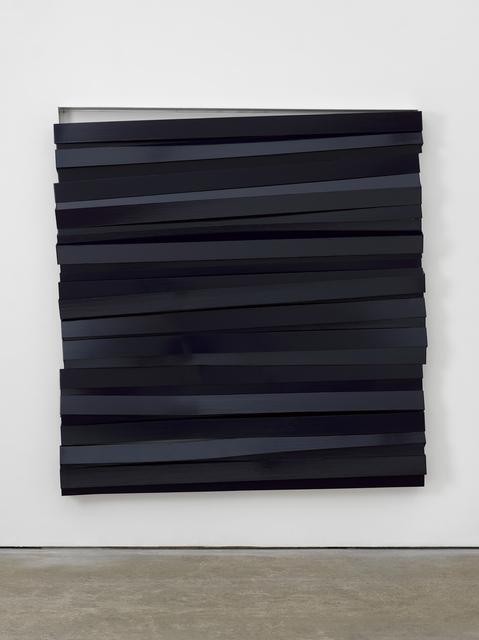 , 'Shutter (Navy),' 2017, Lisson Gallery