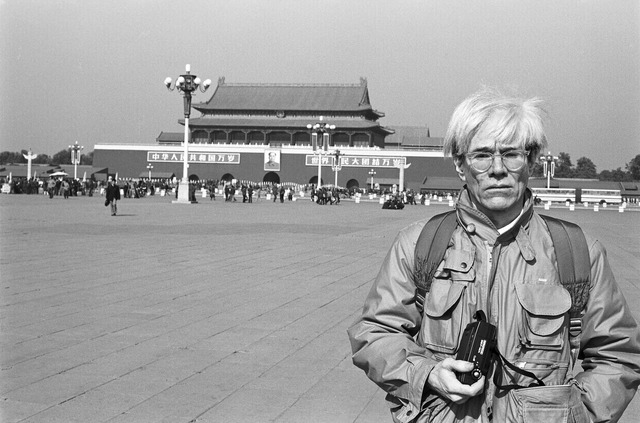 , 'Andy Warhol in Tiananmen Square ,' 1982, National Gallery of Victoria