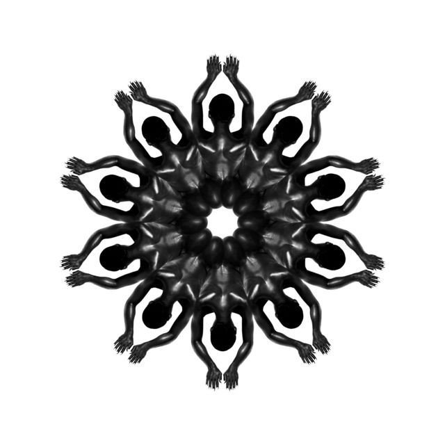 , 'Body Mandala #DHH10 ,' 2016, SmithDavidson Gallery