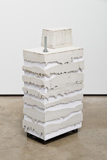 , 'White Lies 8,' 2017, Lora Reynolds Gallery