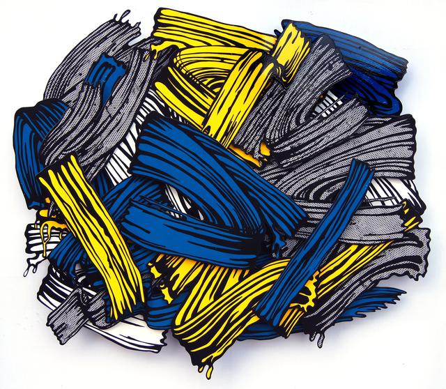, 'Blue Dot Brush,' 2012, Pyo Gallery