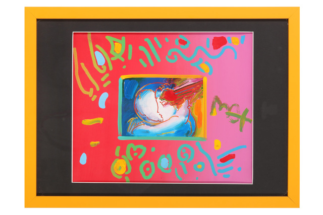 Peter Max, 'I Love The World', 1996, Chiswick Auctions