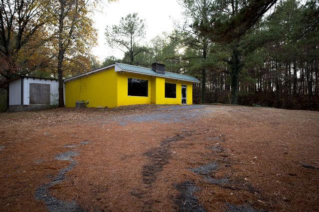 , 'Late Harvest: Yellow Building, Rockford, Alabama,' 2016-printed 2018, Thomas Deans Fine Art