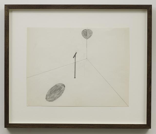 , 'Untitled (Locator),' 1971, Parafin