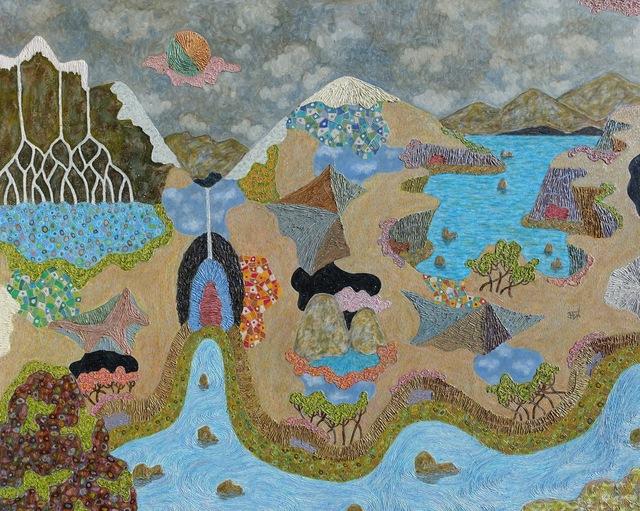 , 'Sacred Landscape #9,' 2016, LAUNCH LA