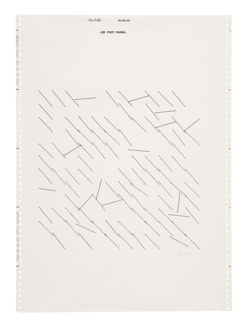 , 'Untitled (10),' 1973, The Mayor Gallery