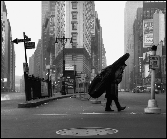 , 'Bill Crow in New York,' 1958, Magnum Photos