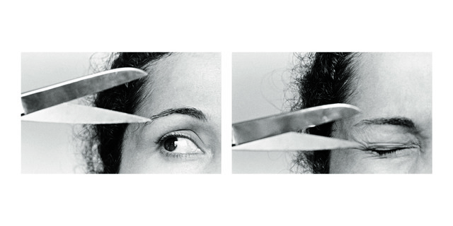 ", '""X"" II, from de series Fotopoemação,' 1974, Galeria Luisa Strina"