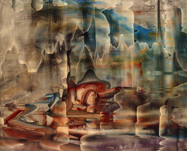 , 'Dorsale thixotrope,' 2015, Galerie D'Este