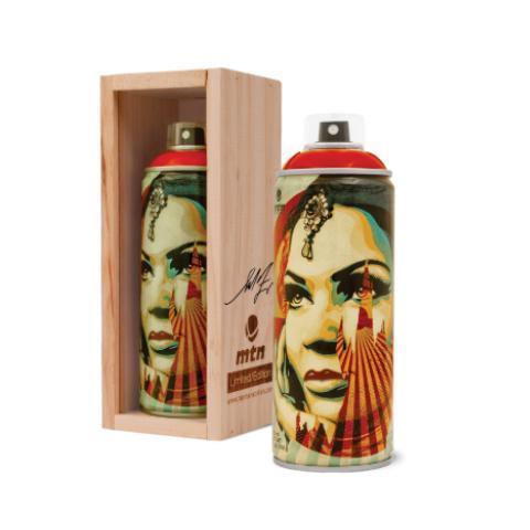 """Shepard Fairey (OBEY), 'Target Exceptions """"Spray Can""""', 2019, New Union Gallery"""
