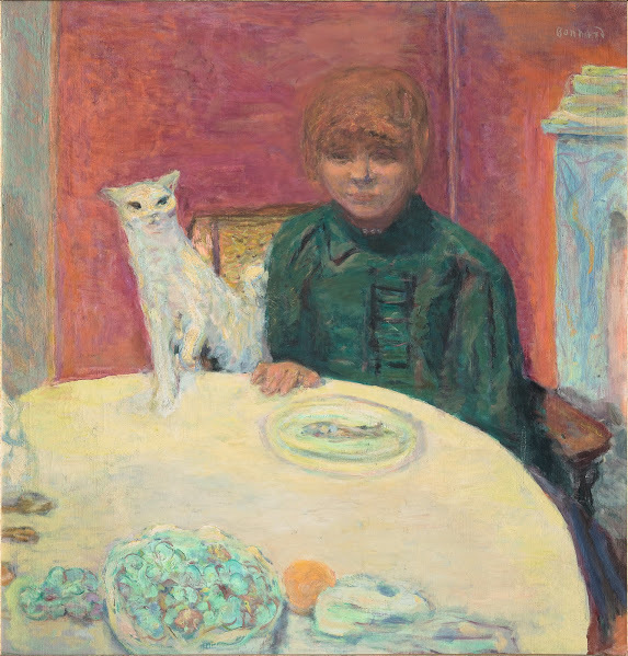 Pierre Bonnard, 'Woman with a Cat, or The Demanding Cat ', 1912, Legion of Honor