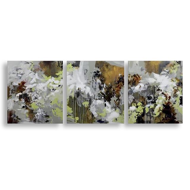 , 'INDELIBLE I, II, III (TRIPTYCH),' , Exhibit by Aberson