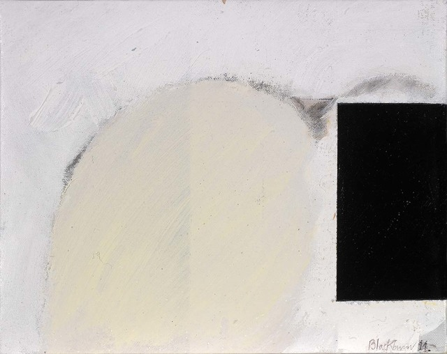 , 'Black Square Going Right,' 2011, Osborne Samuel