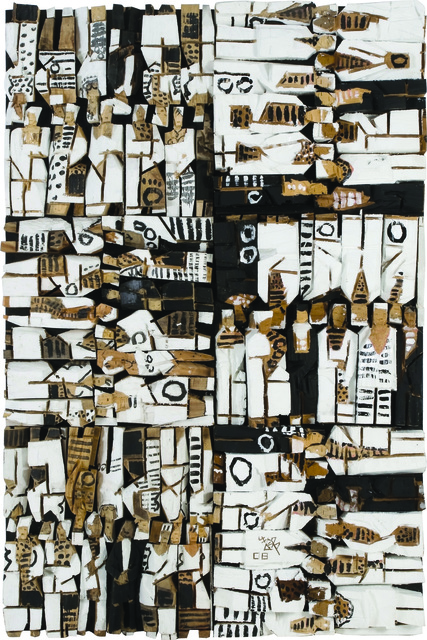 , 'Living World Series - Wood Relief,' 2008, Ipreciation