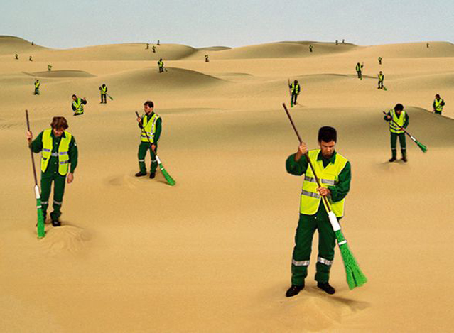 , 'The Desert Sweeper,' 2003, Pace Gallery