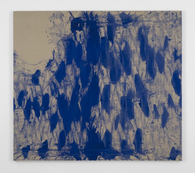 , 'self portrait - snow on cedar (winter),' 2017, bitforms gallery