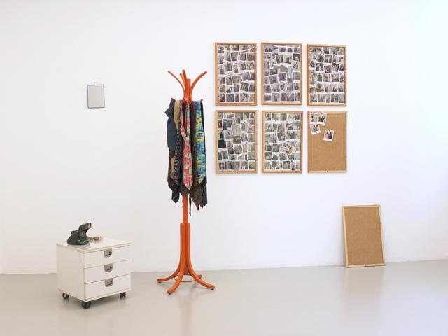 Allan Kaprow, 'Tie rack ', 1998, OSART GALLERY