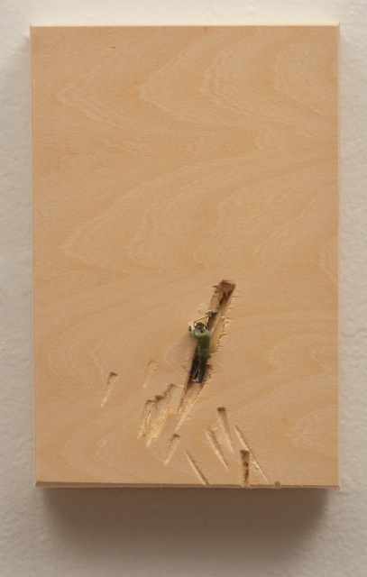 Liliana Porter, 'Man with axe, green vest', 2014, Baginski, Galeria/Projectos