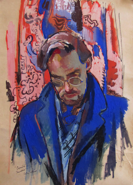 , 'Portrait of Crombie Saunders,' 1942, The Scottish Gallery
