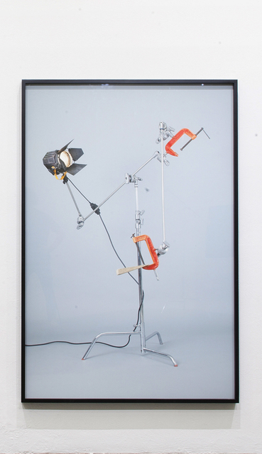 """, '""""Untitled (c-stand, clamp, fresnel 650, cuña),"""",' 2015, Páramo"""
