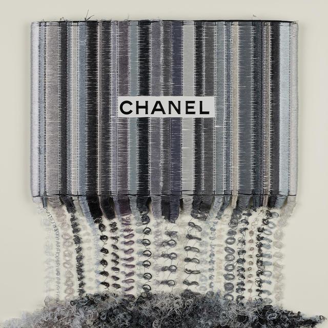 Stephen Wilson, 'Chanel Silver and White Drip', 2019, Axiom Fine Art