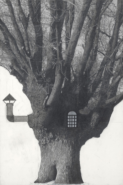 Patrick Van Caeckenbergh, 'Drawing of old trees on wintry days during 2007-2014', 2007, Zeno X Gallery