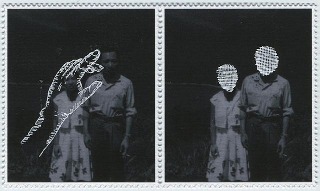 , 'iota 9,' 2016, Parafin