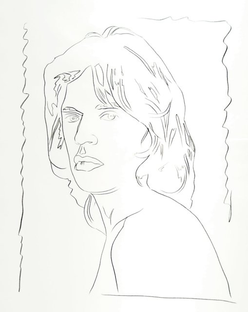 Andy Warhol, 'Mick Jagger', 1975, New York Academy of Art