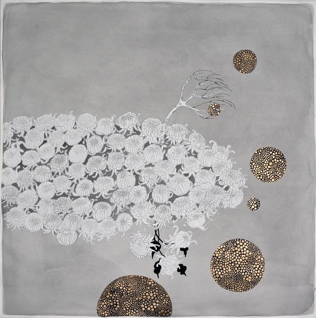 """Crystal Liu, 'the flowers, """"orbiting""""', 2015, Galerie du Monde"""