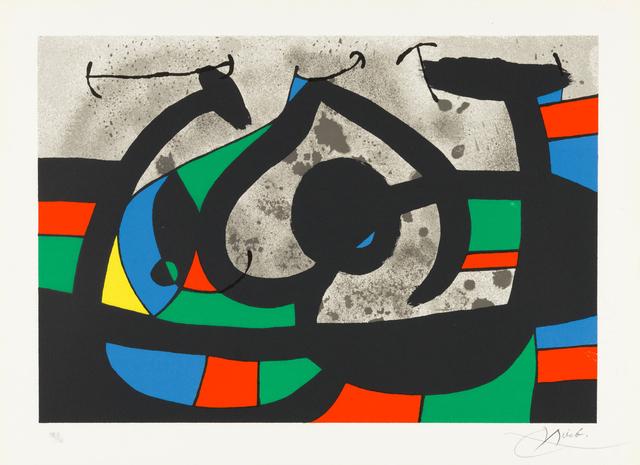 Joan Miró, 'Untitled from Le Lezard aux Plumes d'Or', 1971, Christopher-Clark Fine Art