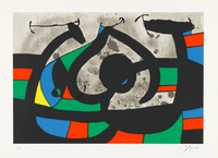 Joan Miró, Untitled from Le Lezard aux Plumes d'Or