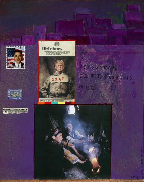 Jane Ash Poitras, 'Aunti Trump', 2019, Painting, Mixed media on canvas, Kinsman Robinson Galleries