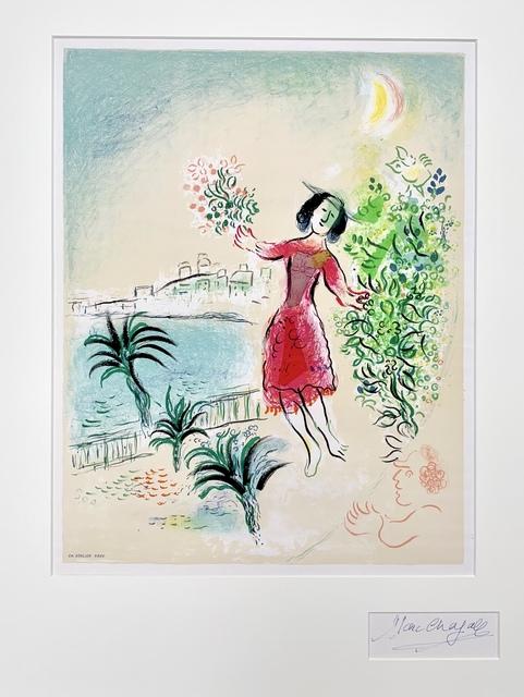 Marc Chagall, 'Baie des Anges', 1970, Print, Lithograph, Van der Vorst- Art