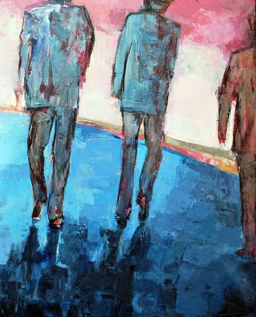 , 'Ian's Men,' 2011, InLiquid