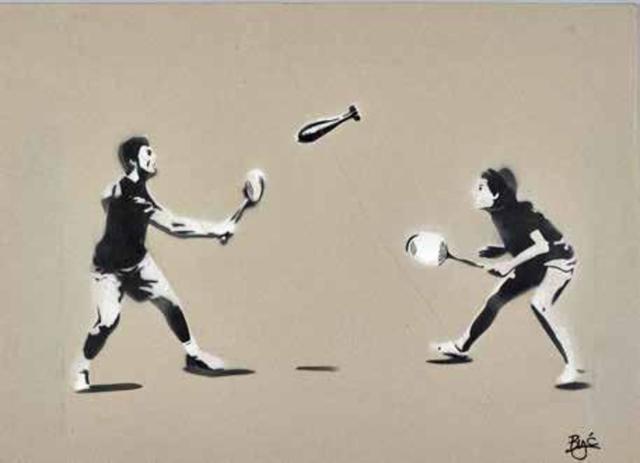 BYĆ, 'Badminton Rocket, 2017', 2017, Bel-Air Fine Art