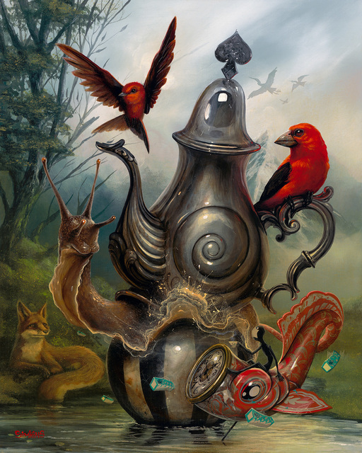 , 'The Tea Bringer,' 2016, Spoke Art