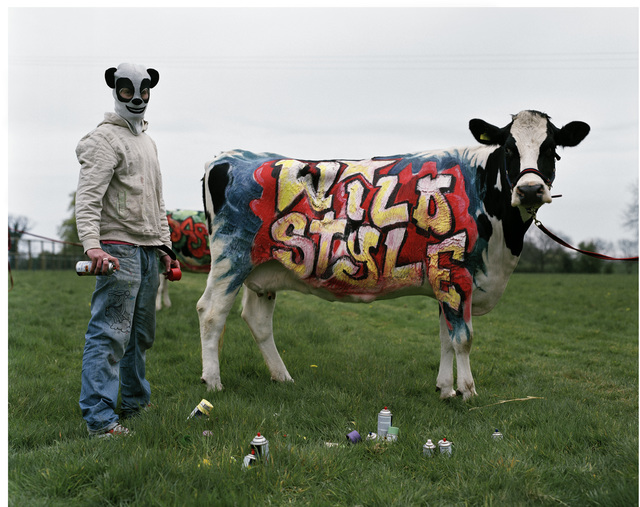 , ''Banksy' & his wildstyle cow. Oxfordshire, 2007,' 2019, Michael Hoppen Gallery